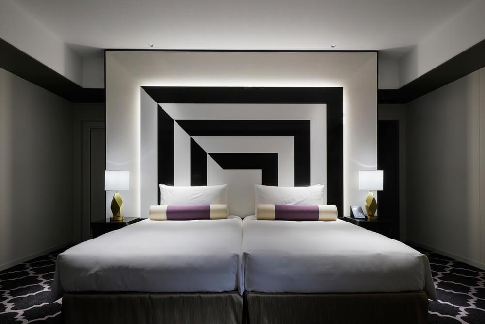 ホテルの部屋に設置された大理石
